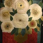 Theme Quilt Fat Quarter Award - Hereford, TX Federal Credit Union Made by: Tamra René Quilted by: Tamra René Roses in Vase